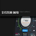 SystemInfo (black) Zooper Skin icon