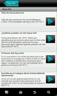 Opus Dei News - screenshot thumbnail