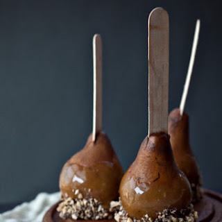Cardamom Honey Caramel Pears