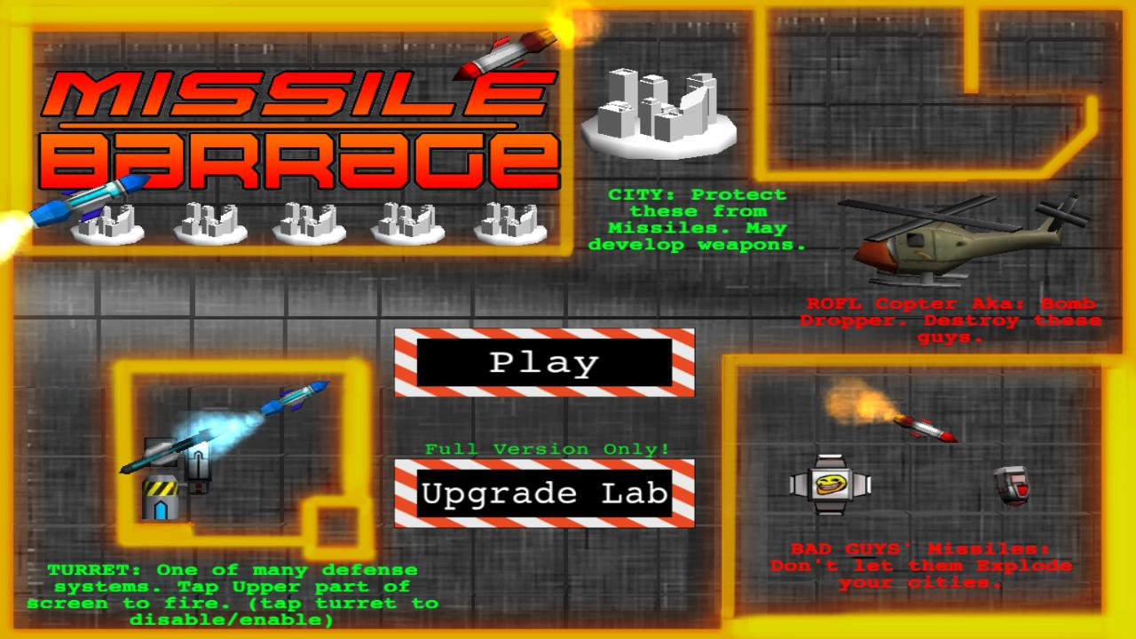 Missile Barrage- screenshot