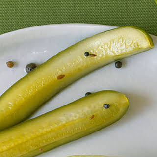 Quick Indian Pickles.