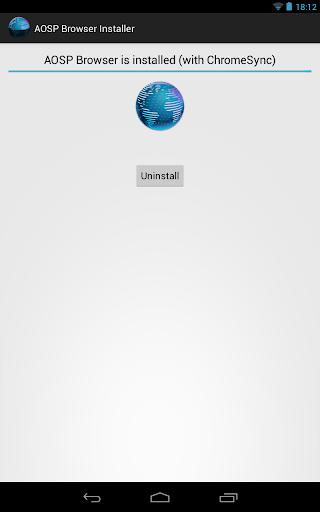 [ROOT]AOSP Browser Installer
