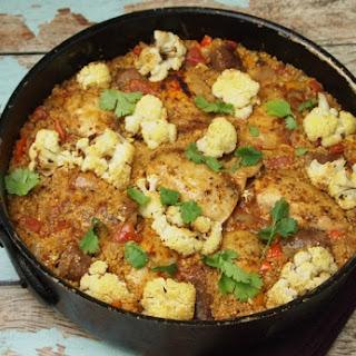 Quinoa Paella.
