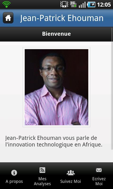 Jean-Patrick Ehouman- screenshot