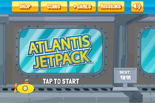 Altantis Jetpack - Deep Sea