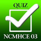 NCMHCE Exam 03