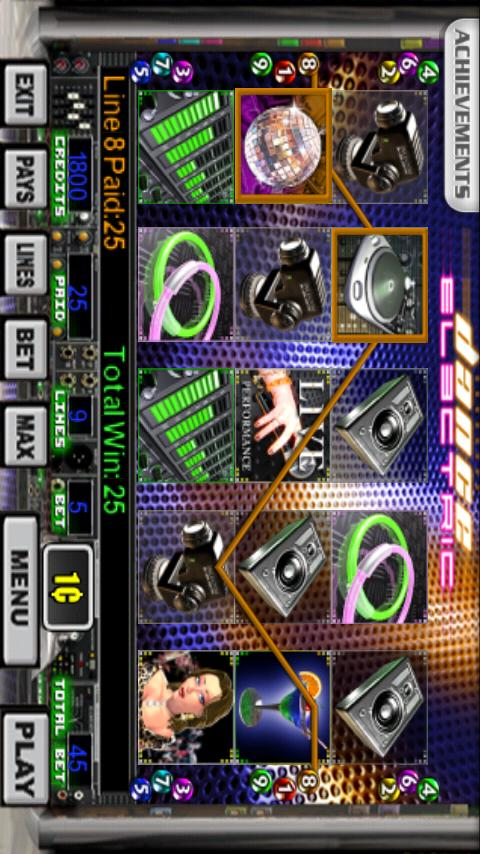 Dance Electric Slot Machine- screenshot