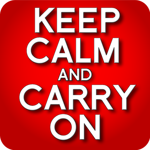 娛樂必備App|Keep Calm and Carry On LOGO-綠色工廠好玩App