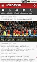 Screenshot of rclensois.fr