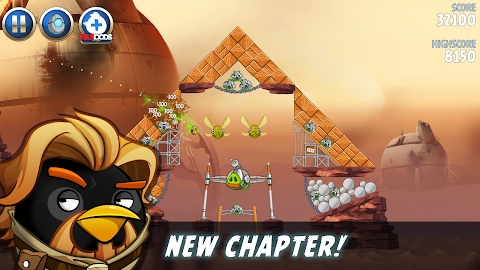 Angry Birds Star Wars II Free Screenshot 4