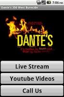 Screenshot of Dante's