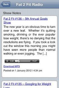 Fat 2 Fit- screenshot thumbnail