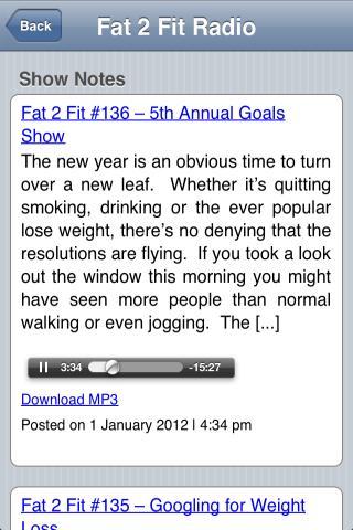 Fat 2 Fit- screenshot