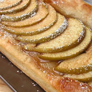 Apple Puff Pastry Tart.