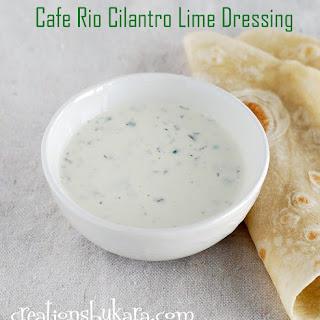 Cafe Rio Salad Dressing.