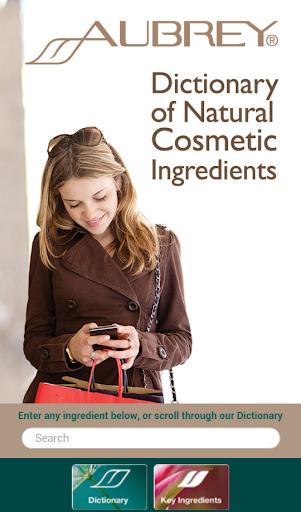 Aubrey Ingredients Dictionary