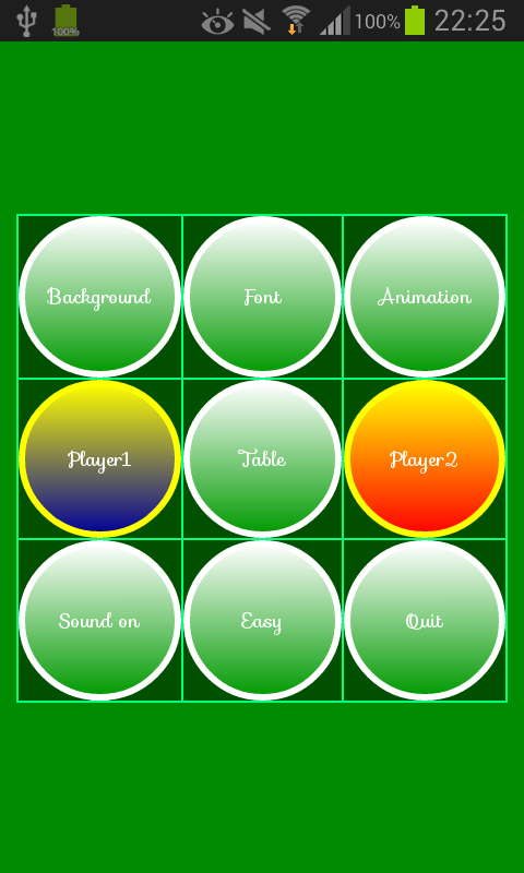 Number Reversi Game- screenshot