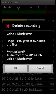 AudioRecorder- screenshot thumbnail