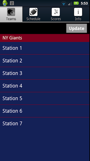 New York G Football Live