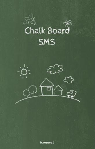 Chalk Board GO sms theme