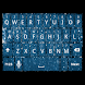 Blue Glitter Keyboard Skin