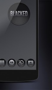 Blacked- Black Icons Nova Apex v1.0