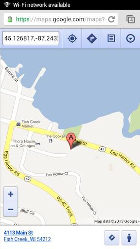 【免費旅遊App】Blue Horse Cafe Door County-APP點子
