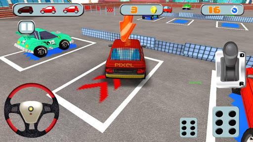 【免費模擬App】Pixel Craft Car Parking-APP點子