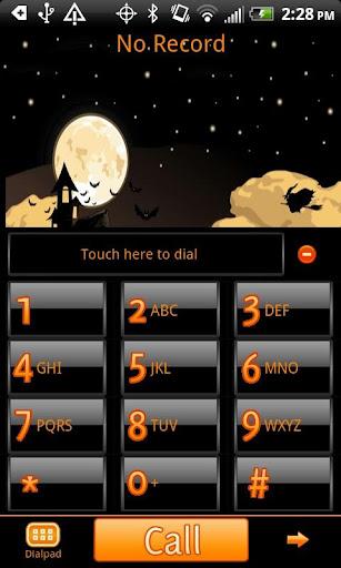 Halloween Go Contacts Theme
