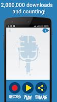Screenshot of Helium Voice Changer