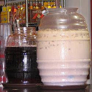 Horchata (Cinnamon Rice Milk).