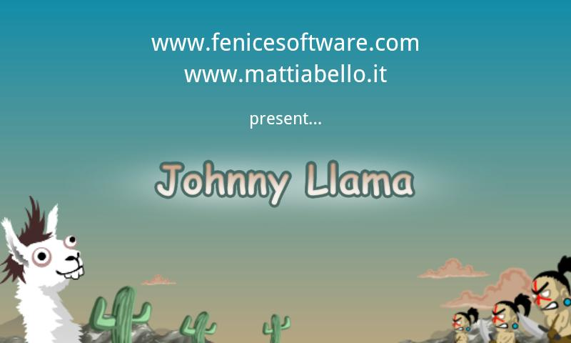 Johnny Llama- screenshot