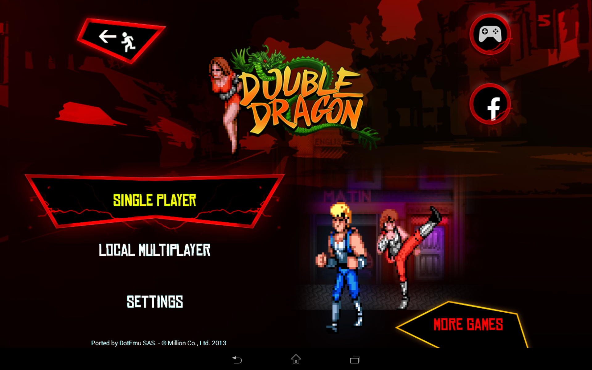 Double Dragon Trilogy screenshot #14