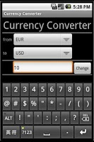 Screenshot of Currency Converter Pro