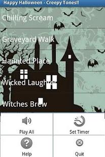 Creepy Sounds- screenshot thumbnail