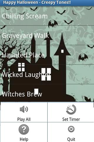 Creepy Sounds- screenshot