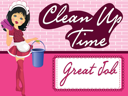 Clean Up Time Game