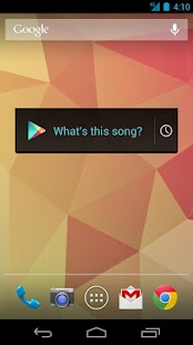 Sound Search for Google Play Screenshot 1