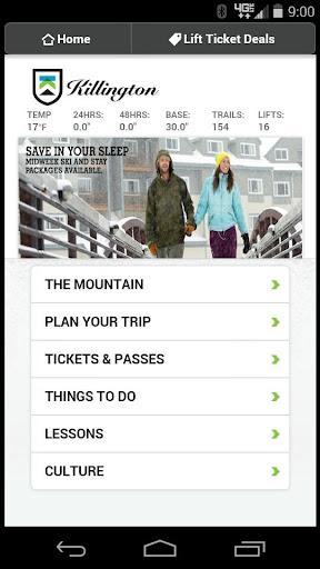 Killington Ski App