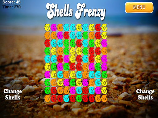 【免費解謎App】Shells Puzzle Frenzy-APP點子