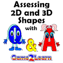 Assessing 2D and 3D shapes icon