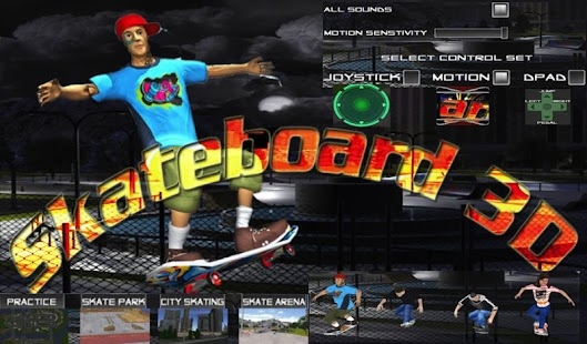 Skate Board Free Skater Games- screenshot thumbnail