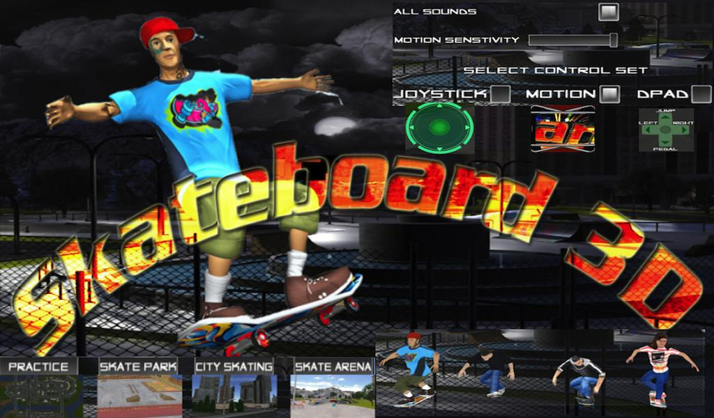 Skate Board Free Skater Games- screenshot