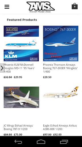 Aircraft Model Store