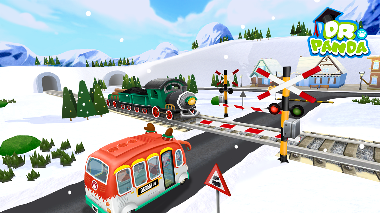 Dr. Panda's Christmas Bus - screenshot