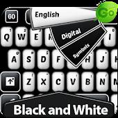 GO Keyboard Black and White