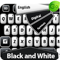 GO Keyboard Black and White 1.7