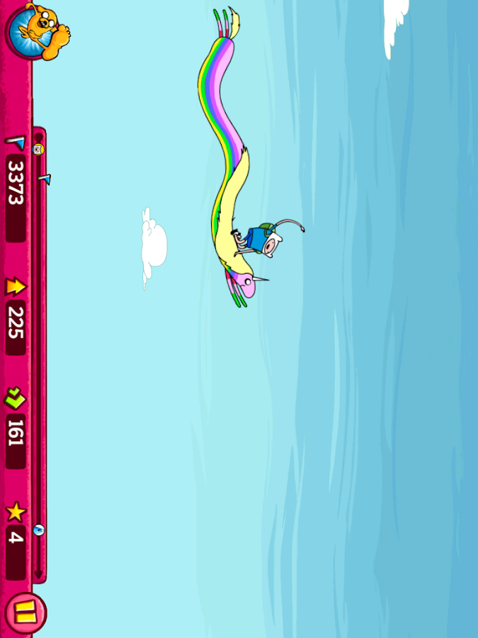 Super Jumping Finn - screenshot