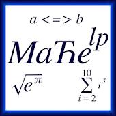 Mathematics Help + Utility