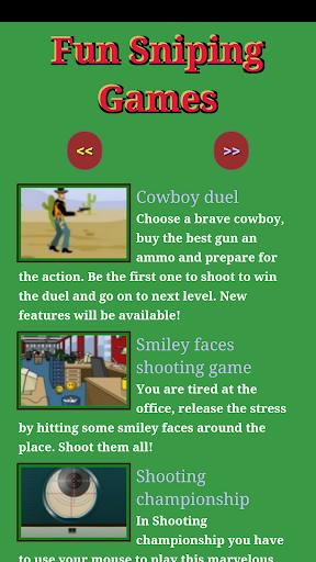 Fun Sniping Games